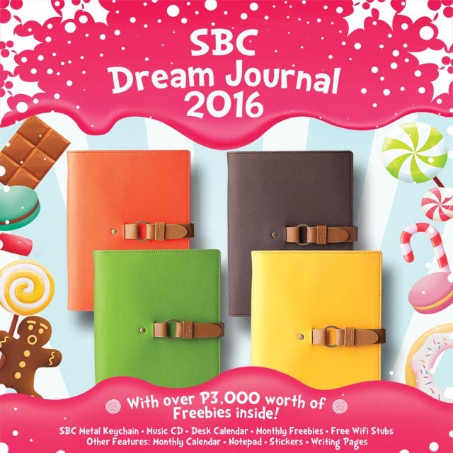2016 Cafe Planners: Take Your Pick