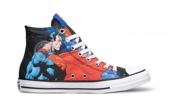 These New Converse Chuck Taylor All Star DC Comics Sneakers