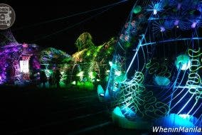 ASTREOPORA, a Light and Sound Art Installation SM Aura Sky Park Leeroy New