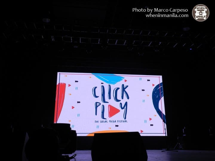 Your favorite YouTube stars in Manila at Click Play