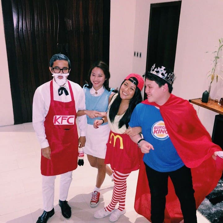 halloween costumes fast food chain