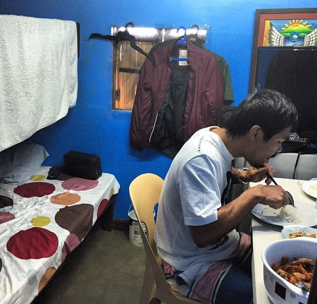 manny pacquiao simple life