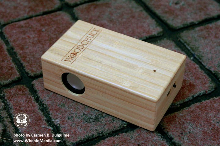woodchuck bamboo box