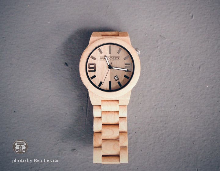 woodchuck bamboo watch
