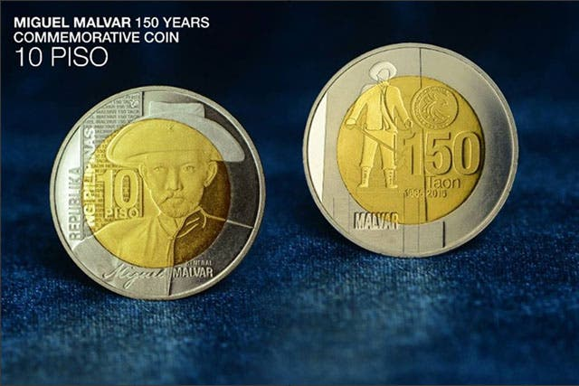 BSP Launches Limited Edition Miguel Malvar Commemorative Coin