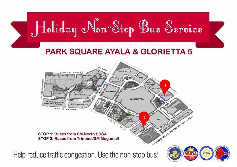 LOOK MMDA Shares Holiday Non-Stop Bus Service Schedule 4