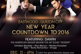 eastwood new year countdown