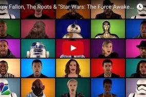 Star Wars A Capella Medley The Tonight Show Starring Jimmy Fallon
