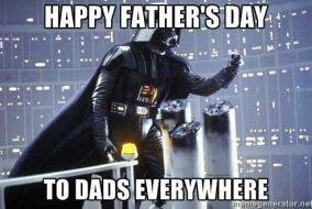 father's day darth vader