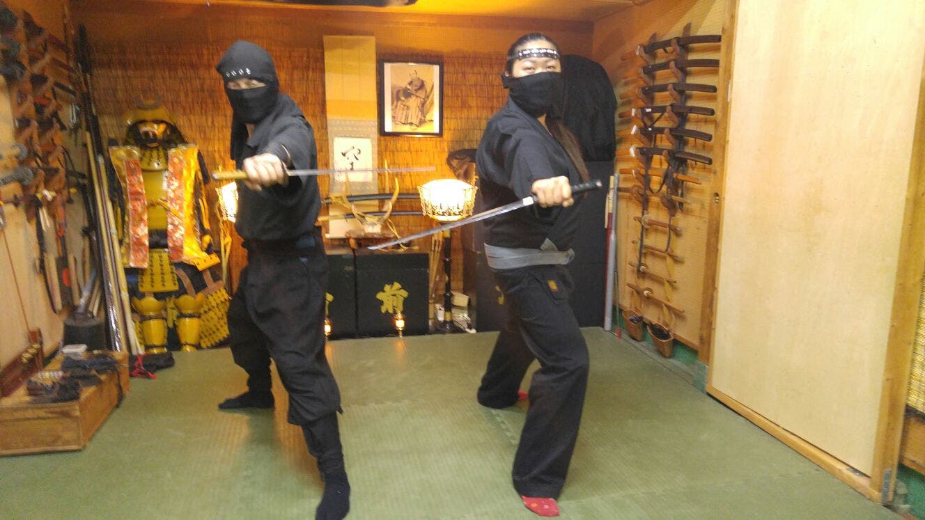 Be A Ninja For A Day