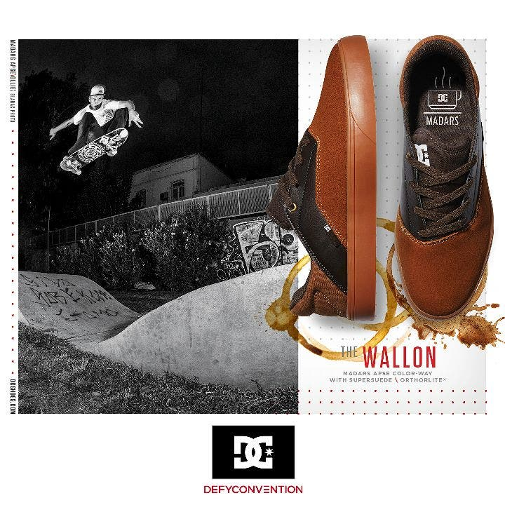 DC Shoes Drops the New Wallon S Madars Apse