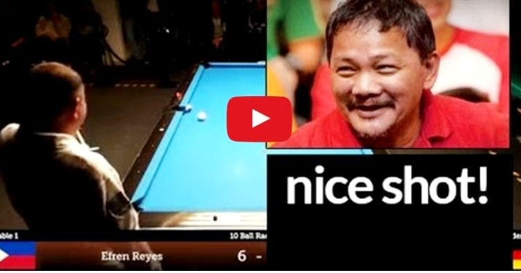 Efren Bata Reyes Cool Pool Trick Germany