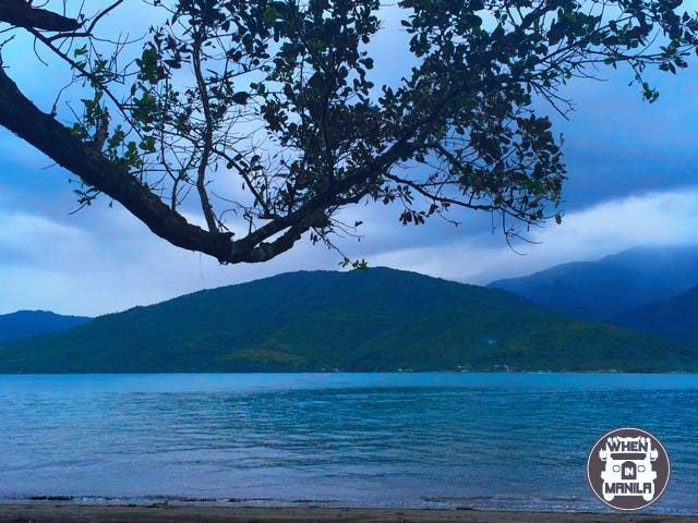 Sierra Madre Mountain- a great  view from Baluti island
