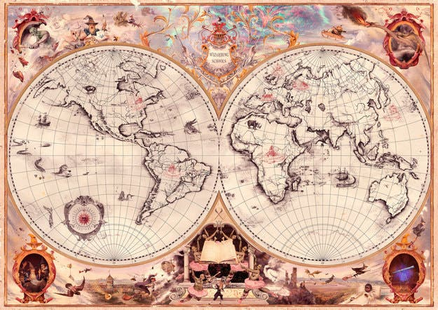 J.K. Rowling Reveals Wizarding Schools in Africa, South America, the US, and Asia