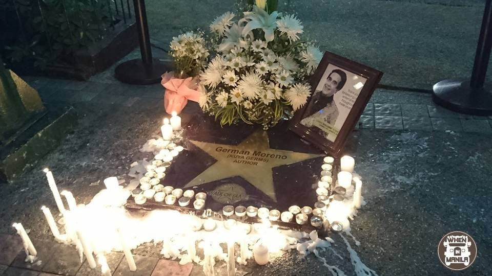 Kuya Germs memorial Eastwood City Walk of Fame