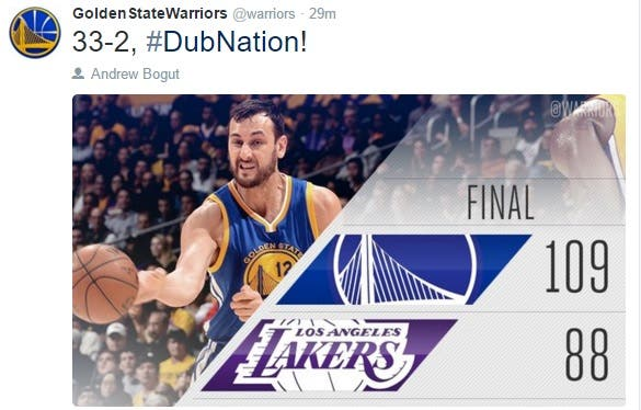 LakersWarriors