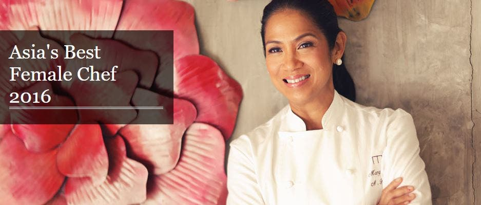 Margarita Fores Named Asia's Best Female Chef