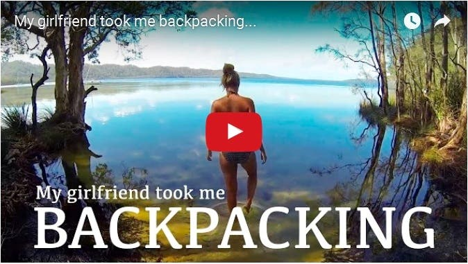 "This Travel Video ""My Girlfriend Took Me Backpacking"" is the Ultimate #RelationshipGoals"