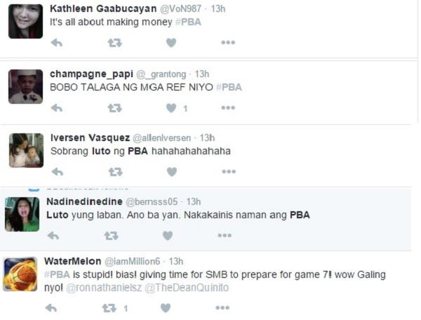 PBa bad comments