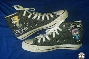 Gucks Shoes Customized Handpainted Shoes