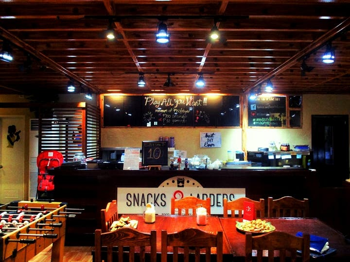 Visit Snacks and Ladders for a unique barkada bonding experience7