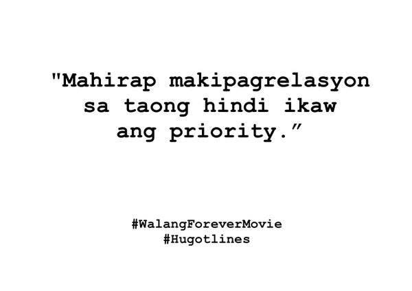 Walangforever Hugot Lines That We Can Relate To When In Manila