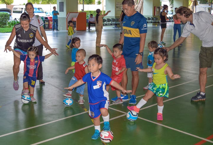 Kaya FC Academy Tots and Kickers Football Classes for Kids