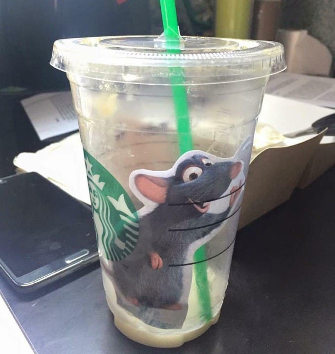 mouse in coffee 5