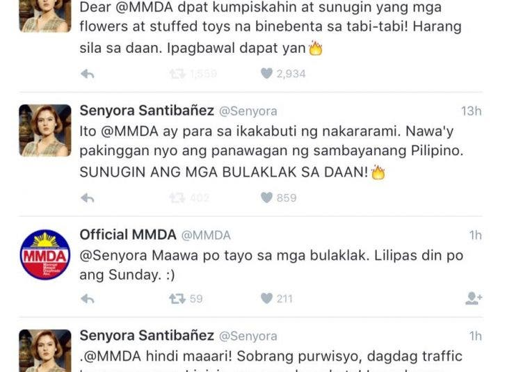 Senyora Santibañez and MMDA's Heart-to-Heart Conversation on Twitter Wins the Internet this Week