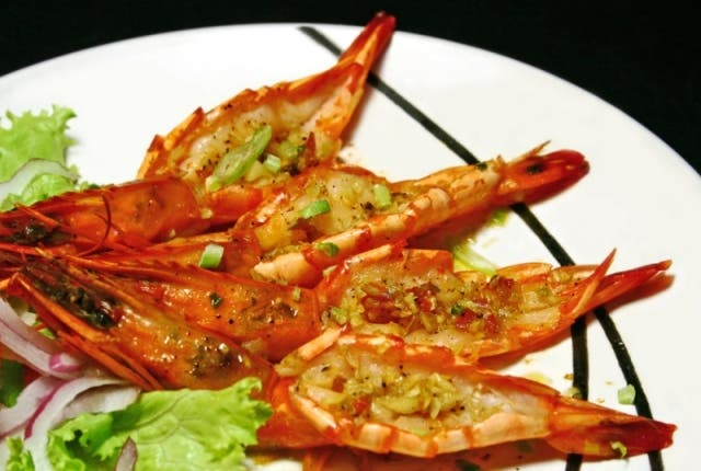 Butter Garlic Prawn