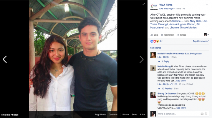 James Reid Nadine Lustre UP
