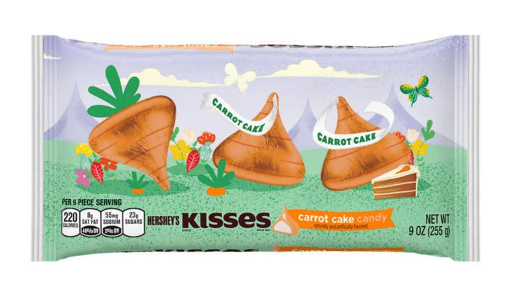 LOOK Hershey's Launches Carrot Cake Kisses 45
