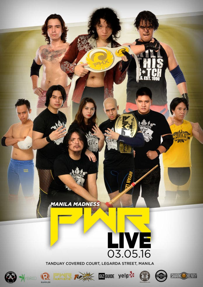 PWR LIVE Final Poster