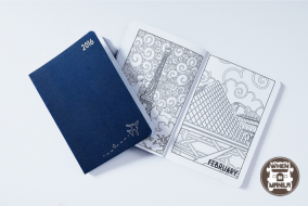 Paper & Co Travel Planner Coloring Book