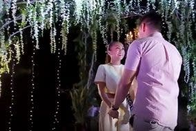 Rochelle Pangilinan's Sweet Engagement to Arthur Solinap Celebrity Weddings Proposals
