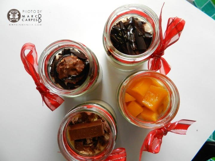 Spoil your sweet tooth this Valentines with Chef Kally's Jar Cakes