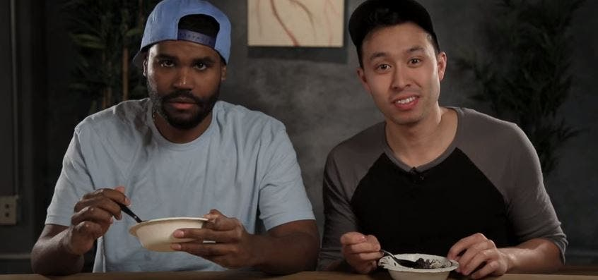 WATCH Americans Try Dinuguan