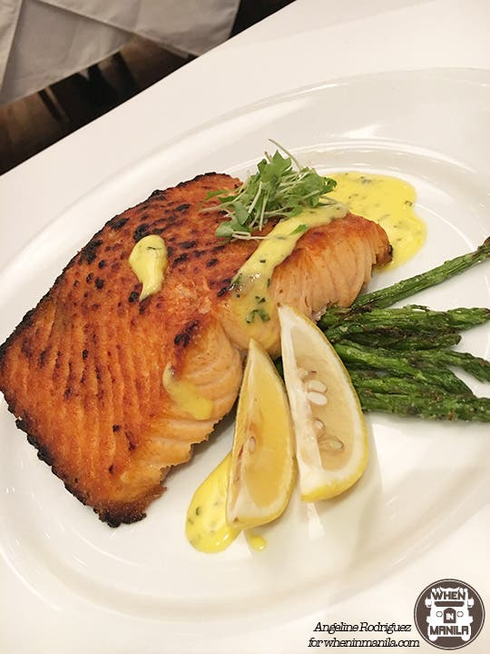 Wolfgang's Steakhouse Grilled Salmon