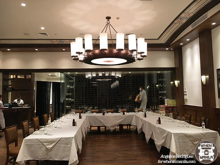 Wolfgang's Steakhouse interiors 2