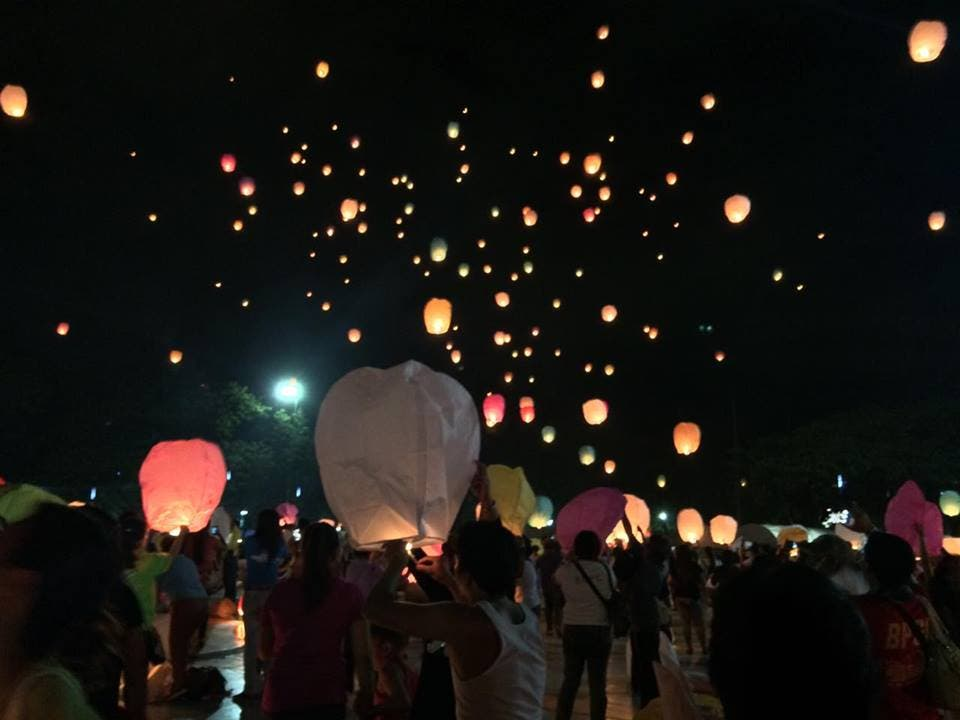 """Uinted Nations UN Women and Quezon City Lights the Sky to Kick-off """"Safe Cities for Women"""" Campaign"""