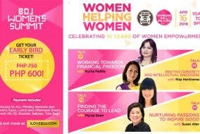 Join the BDJ Women's Summit: Women Helping Women on April 16