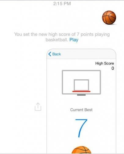 Basketball Emoji game Messenger 2