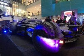 Batman v Superman Dawn of Justice SM Supermalls Batmobile