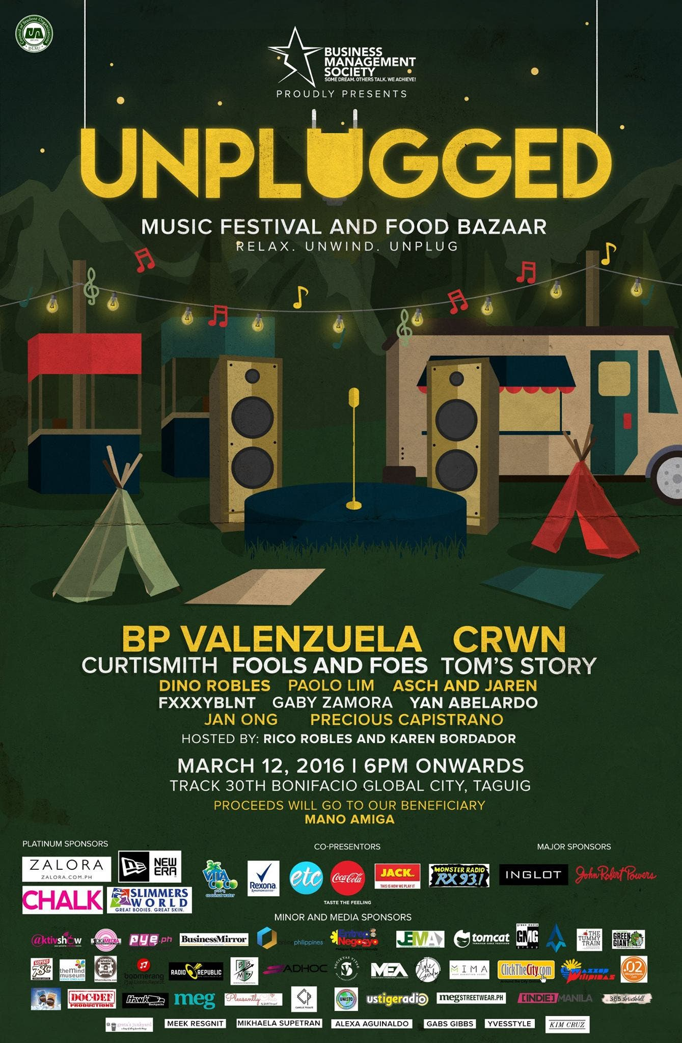 Unplugged: Indie Music Festival and Food Bazaar BGC