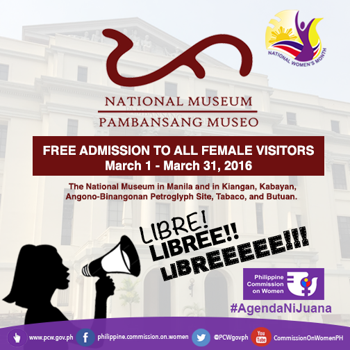 Free Entrance For All Women In the National Museum This March!