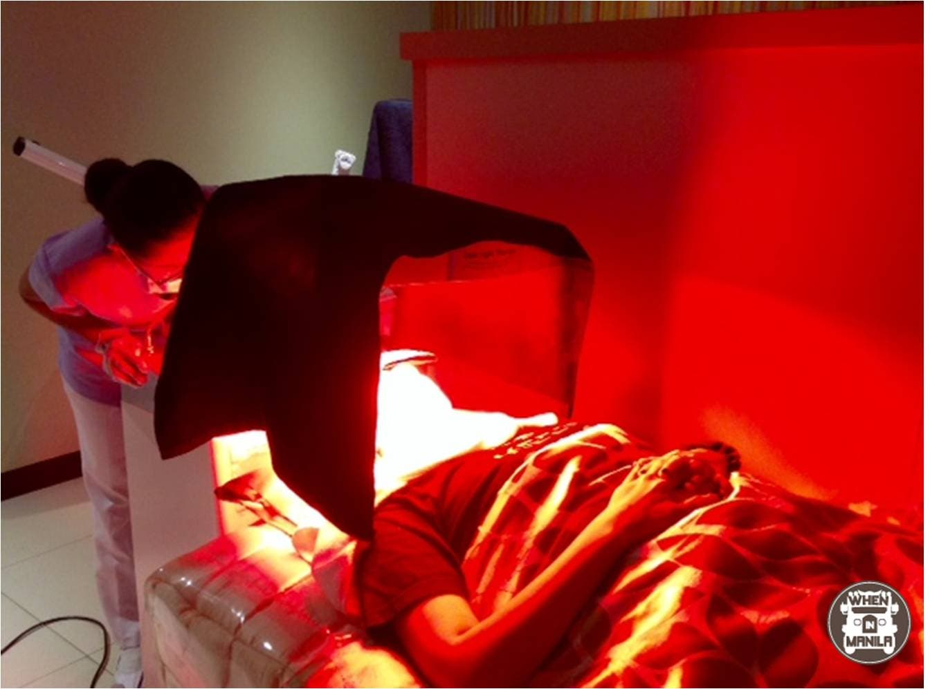 Korean Beauty Clinic Red Light to improve blood circulation