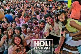 Celebrate Love, Friendship, and New Beginnings: Holi Festival 2016 at SM by the Bay Asia Society Philippines