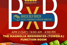 Lego Sale at the Lego Trading Group's Brick Buy Brick Event (BxB) Pinoy Lego Users Group