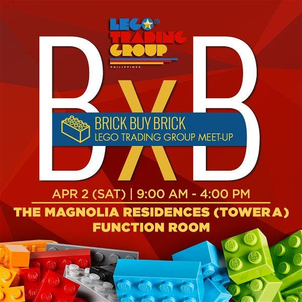 Lego Sale at the Lego Trading Group's Brick Buy Brick Event (BxB ...