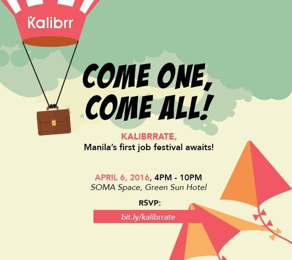 Kalibrr Kalibrrate: Making the Job Hunt Fun in Manila's First Job Festival!